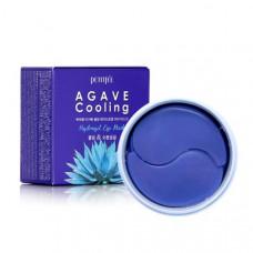 Патчи гидрогелевые для глаз PETITFEE АГАВА Agave Cooling Hydrogel Eye Mask, 60 шт