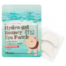 АКЦИЯ -50% Патчи Elizavecca увлажняющие для век с коллагеном Hydro-Gel Bouncy Eye Patch 10 пар