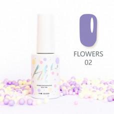 HIT gel Гель-лак №02 Flowers, 9 мл