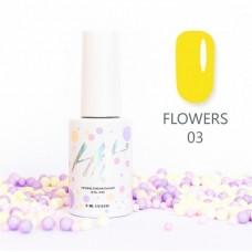 HIT gel Гель-лак №03 Flowers, 9 мл