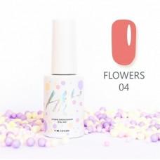 HIT gel Гель-лак №04 Flowers, 9 мл
