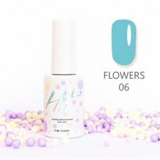 HIT gel Гель-лак №06 Flowers, 9 мл