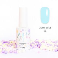 HIT gel Гель-лак №01 Light Blue, 9 мл