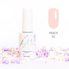 HIT gel Гель-лак №01 Peach, 9 мл