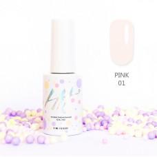 HIT gel Гель-лак №01 Pink, 9 мл