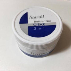 Lisanail Gel Clear 3 в1, 15 г