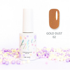HIT gel Гель-лак Gold dust №02, 9 мл