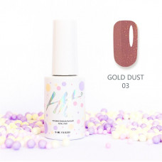 HIT gel Гель-лак Gold dust №03, 9 мл