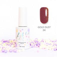 HIT gel Гель-лак Gold dust №04, 9 мл