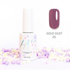HIT gel Гель-лак Gold dust №05, 9 мл