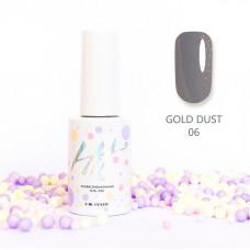 HIT gel Гель-лак Gold dust №06, 9 мл