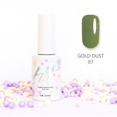 HIT gel Гель-лак Gold dust №07, 9 мл