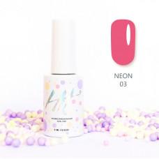 HIT gel Гель-лак №03 Neon, 9 мл