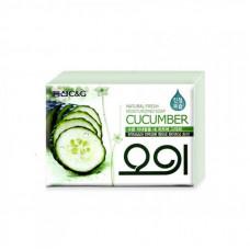 Мыло туалетное огуречное New Cucumber soap 100гр