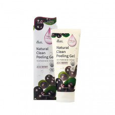 Пилинг-скатка EKEL с экстрактом ягод асаи Natural Clean peeling gel Acai Berry 180 гр.