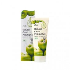 Пилинг-скатка EKEL с экстрактом зеленого яблока Natural Clean peeling gel Apple 180 гр