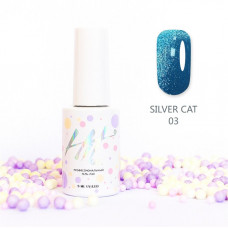 HIT gel Гель-лак №03 Silver cat, 9 мл