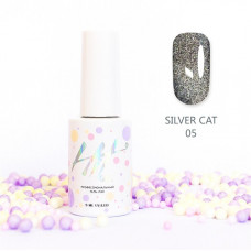 HIT gel Гель-лак №05 Silver cat, 9 мл