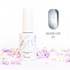 HIT gel Гель-лак №07 Silver cat, 9 мл