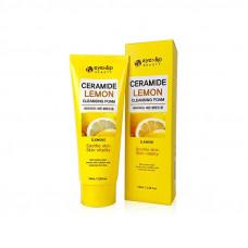 Пенка для умывания  Eyenlip CERAMIDE LEMON CLEANSING FOAM 100мл
