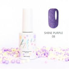 HIT gel Гель-лак №08 Shine Purple, 9 мл