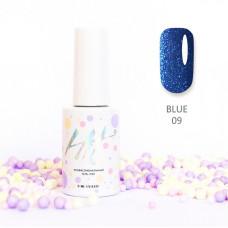 HIT gel Гель-лак №09 Blue, 9 мл