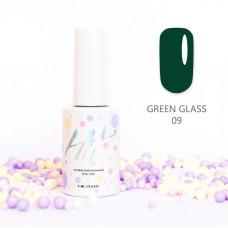 HIT gel Гель-лак №09 Green glass, 9 мл