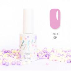 HIT gel Гель-лак №09 Pink, 9 мл