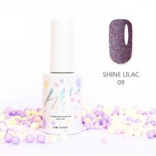 HIT gel Гель-лак №09 Shine Lilac, 9 мл