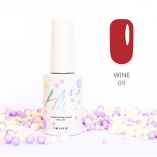 HIT gel Гель-лак №09 Wine, 9 мл