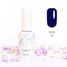 HIT gel Гель-лак №10 Blue, 9 мл