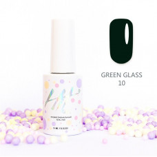 HIT gel Гель-лак №10 Green glass, 9 мл