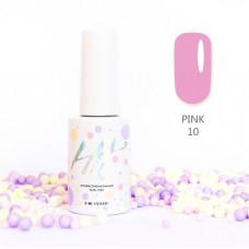 HIT gel Гель-лак №10 Pink, 9 мл