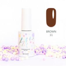 HIT gel Гель-лак №11 Brown, 9 мл