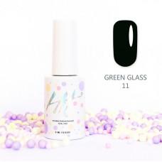 HIT gel Гель-лак №11 Green glass, 9 мл