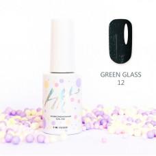 HIT gel Гель-лак №12 Green glass, 9 мл