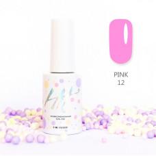 HIT gel Гель-лак №12 Pink, 9 мл