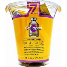 Сыворотка для лица MAYISLAND с коллагеном 7Days  Collagen Ampoule 3мл
