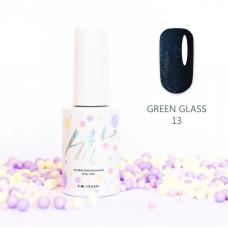 HIT gel Гель-лак №13 Green glass, 9 мл
