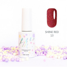 HIT gel Гель-лак №13 Shine Red, 9 мл