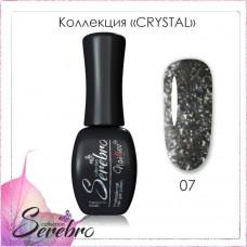 Serebro Гель-лак Crystal №07 11 мл.