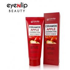 Пенка для умывания  Eyenlip CERAMIDE APPLE CLEANSING FOAM 100мл