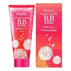 Крем BB для лица  Deoproce WHITE FLOWER BB CREAM SPF35 PA+++ 30Г
