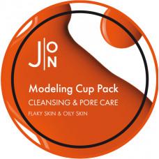 Альгинатная маска для лица ОЧИЩЕНИЕ/СУЖЕНИЕ ПОР Cleansing & Pore Care Modeling Pack, 18 гр