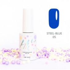 HIT gel Гель-лак №05 Steel-Blue, 9 мл