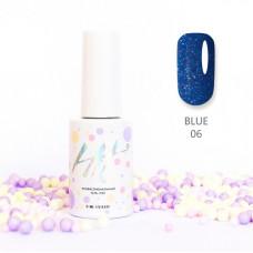 HIT gel Гель-лак №06 Blue, 9 мл