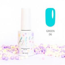 HIT gel Гель-лак №06 Green, 9 мл