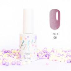 HIT gel Гель-лак №06 Pink, 9 мл
