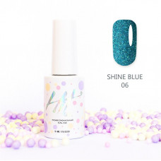 HIT gel Гель-лак №06 Shine Blue, 9 мл