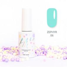 HIT gel Гель-лак №06 Zephir, 9 мл